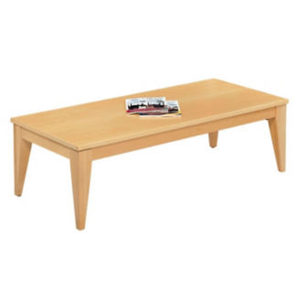 "Tapered Leg Coffee Table -54""W x 24""D, W60008"
