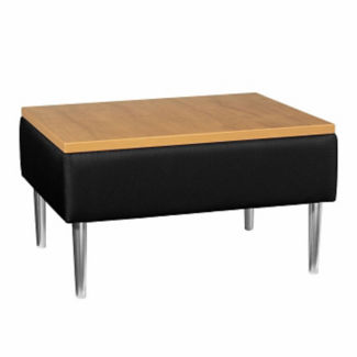 Square End Table with Fabric Upholstery, W60655