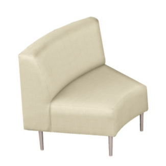 Inside Curve Chair with Vinyl Upholstery, W60661