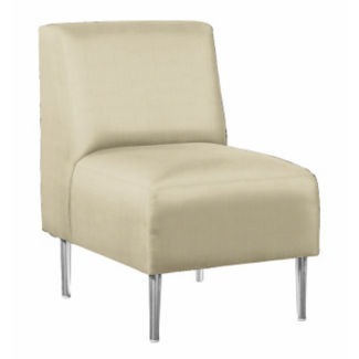 Club Chair with Vinyl Upholstery, W60668