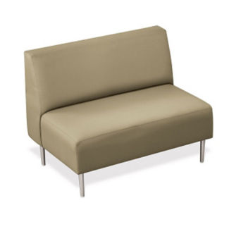Loveseat with Vinyl Upholstery, W60669
