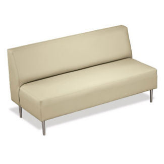 Straight Sofa with Vinyl Upholstery, W60670