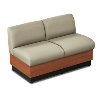 Loveseat with Fabric Upholstery, W60680