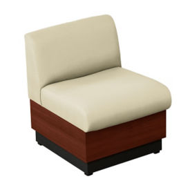 Chair with Vinyl Upholstery, W60685