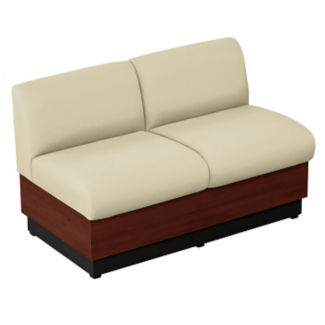 Loveseat with Vinyl Upholstery, W60686