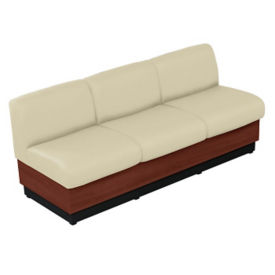 Sofa with Vinyl Upholstery, W60687
