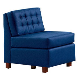 Standard Fabric or Vinyl Armless Guest Chair, W60736