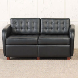 Heavy Duty Fabric Tufted Loveseat , W60740