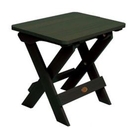 Synthetic Wood Outdoor Folding Side Table, F10012