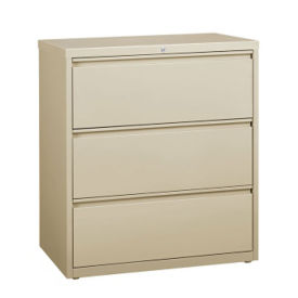 "Three Drawer Lateral File 36""W, L40795"