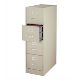 "25""D Four Drawer Letter Vertical File, L40810"