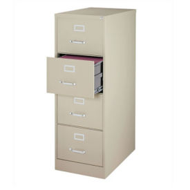"25""D Four Drawer Legal Vertical File, L40811"