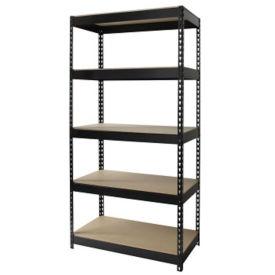 "Five Shelf Riveted Shelving-36""W x 18""D x 72""H, B30168"