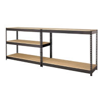 "Five Shelf Riveted Shelving-48""W x 18""D x 72""H, B30169"