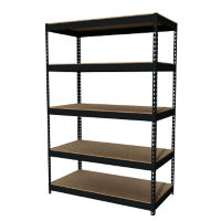 "Five Shelf Riveted Shelving-48""W x 24""D x 72""H, B30170"