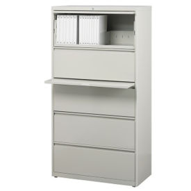 "30""W Five Drawer Lateral File, L40845"