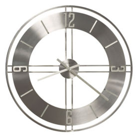 "Wrought Iron Wall Clock - 30"", V21851"