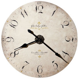 "Antique Dial Wall Clock- 32"", V21855"