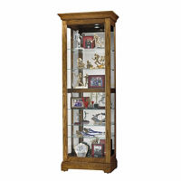 Display Cabinet with Mirrored Back, B34259