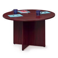 "Round X-Base Conference Table – 48"" Diameter, C90086"