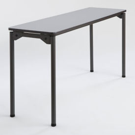 "Rectangular Folding Table - 18"" x 60"", T11437"