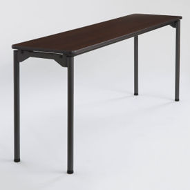 "Rectangular Folding Table - 18"" x 72"", T11438"