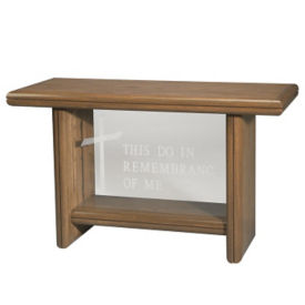 Plexiglass Communion Table, C30121