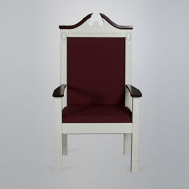 Fabric Pulpit Center Chair, C30126