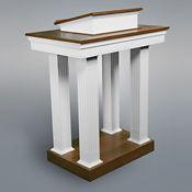Open Wood Pulpit, C30130