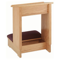 "Single Prayer Desk 24""W, C30133"