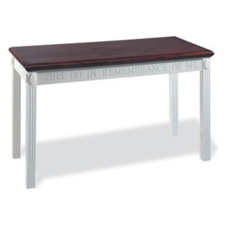 "Two Tone Communion Table - 54""W x 22""D, C30139"