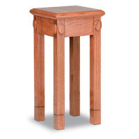 "Open Leg Stain Flower Stand - 32""H, C30143"