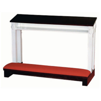 "Two Tone Double Prayer Desk 48""W, C30150"