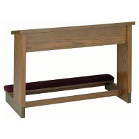 "Stained Prayer Desk 48""W, C30153"