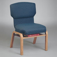 Fabric Wing Back Chair, C30154