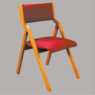 Stack Chair w/Bookrack, C30161