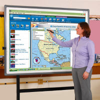 "77"" Diagonal Digital Interactive Whiteboard, B21021"