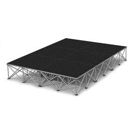 Rectangular Stage Set - 12'W x 16'H, P60046