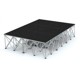 Rectangular Stage Set - 12'W x 24'H, P60047