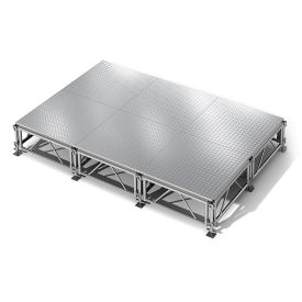 "All Terrain Aluminum Stage Set - 12'W x 8""D, P60371"