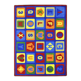 """Lots to Learn Area Rug - 10'9"""" x 7'8"""", P30433"""