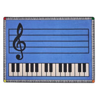 Play Along Music Carpet 129 x 157, P30416