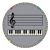 "Play Along Music Carpet 158""Dia, P30418"