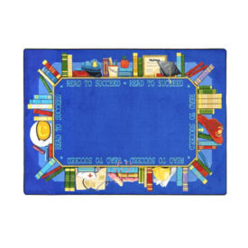"Read to Succeed Rectangle Rug 65"" x 92"", P40227"