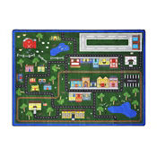"Tiny Town Rectangle Rug 65"" x 92"", P40257"