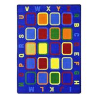 "Alphabet Tiles Area Rug - 13'2"" x 10'9"", P30431"