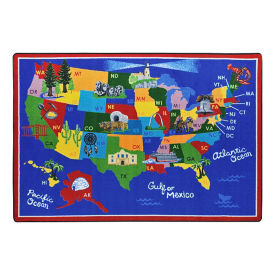 "America the Beautiful Rectangle Rug - 13'2"" x 10'9"", P30440"