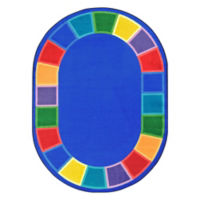 "Color Tones Oval Rug - 10'9"" x 7'8"", P30424"