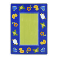 """Green Space Rectangle Rug - 10'9"""" x 7'8"""", P30445"""