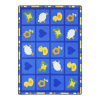 """Spring Things Rectangle Rug - 7'8"""" x 5'4"""", P30449"""
